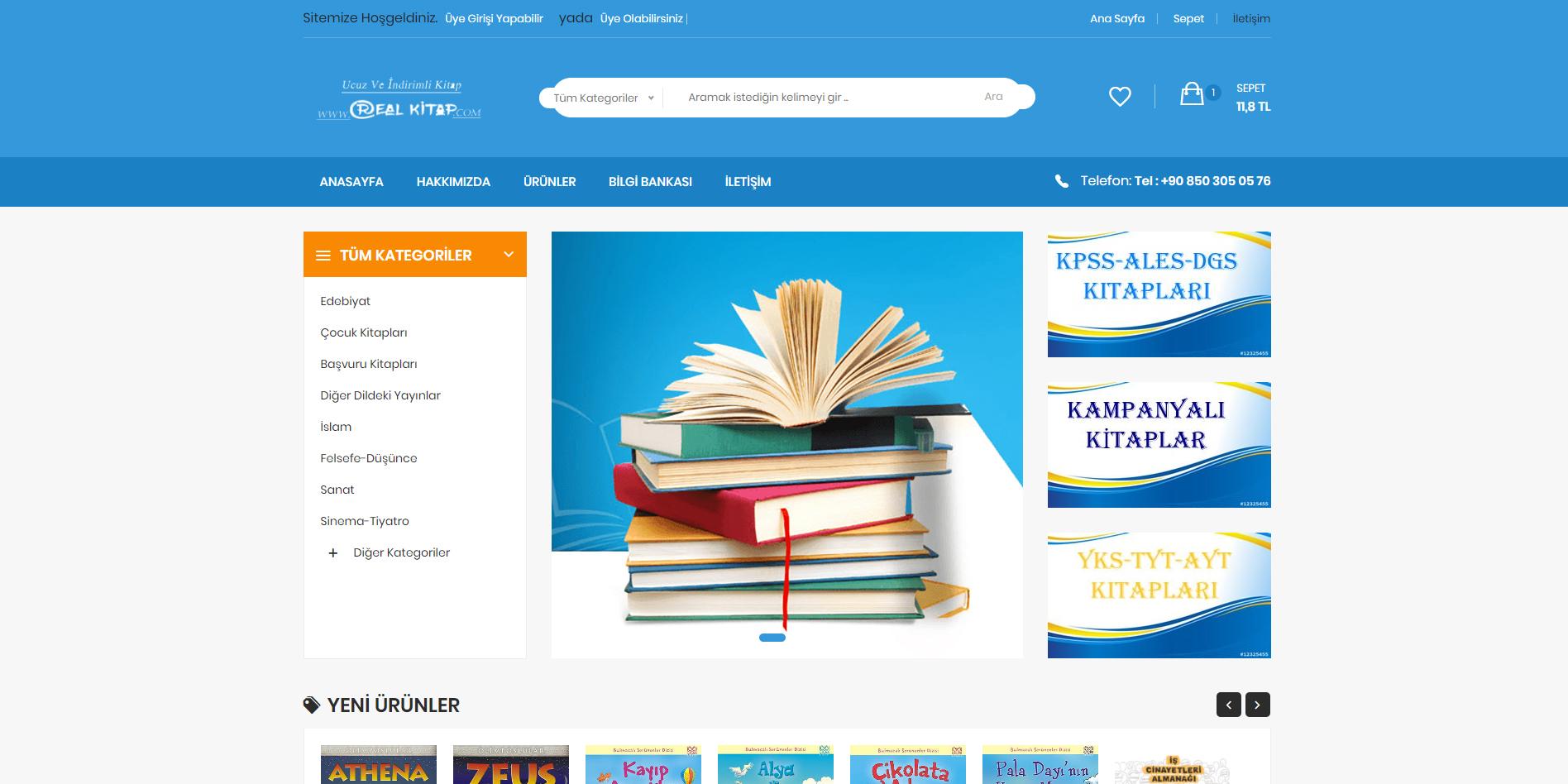 asp.net e-ticaret paketi, .net mvc e-ticaret paketi
